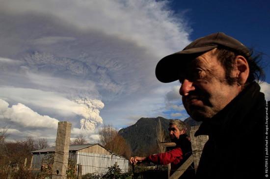 14 550x366 Чилийский вулкан Пуйеуэ