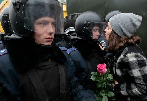 41 Народ и полиция. Фото со всего мира
