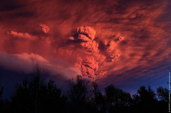 file 550x366 Чилийский вулкан Пуйеуэ