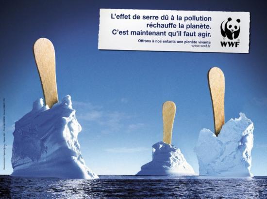 wwf 07 Плакаты от WWF   природа требует рекламы