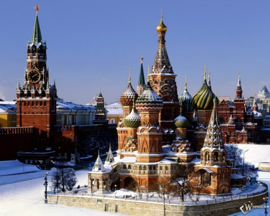1280x1024 Hram Vasiliya Blazhennogo Moskva 550x440 Москва