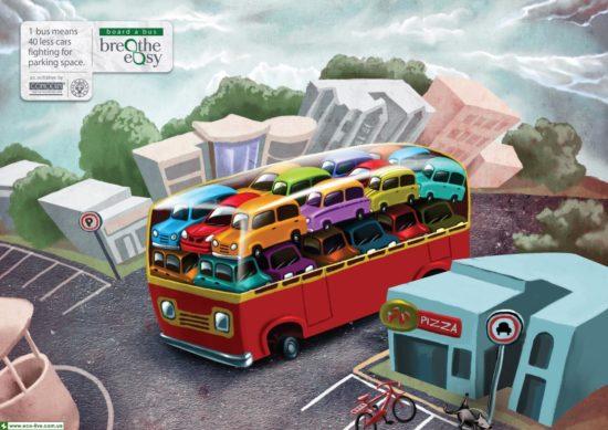Breathe Easy cars 550x389 1 автобус   это...