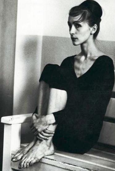 Pina Bausch Folkwang School 1960s. Photographer unknown 373x550 Я любила танцевать, потому что я боялась говорить...