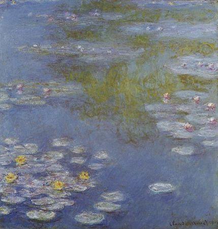 Water Lilies Лилии Моне