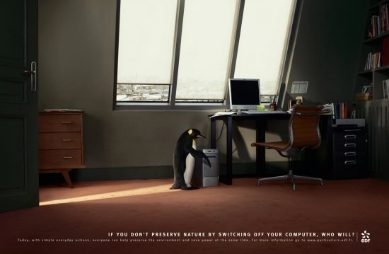 07 EDF Экологическая социальная реклама об энергосбережении