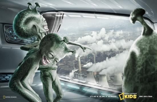 10 National Geographic Kids Magazine Экологическая социальная реклама