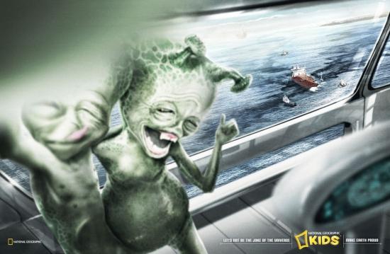 11 National Geographic Kids Magazine Экологическая социальная реклама