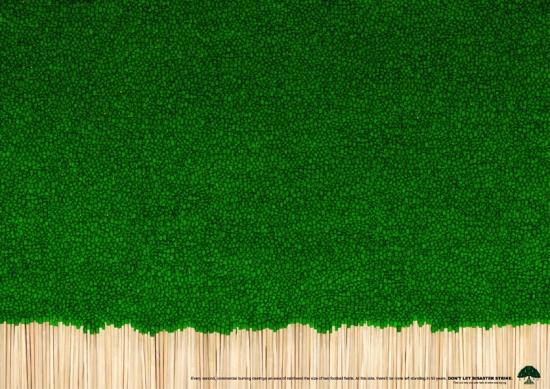 17 NSS Экологическая социальная реклама в защиту деревьев