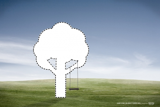 18 TreeUtah Экологическая социальная реклама в защиту деревьев