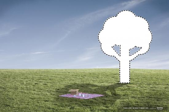 19 TreeUtah Экологическая социальная реклама в защиту деревьев