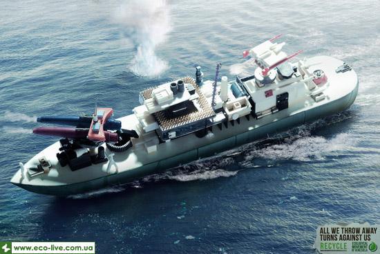 Ecological Movement of Venezuela ship 0 Экологическая социальная реклама против загрязнения