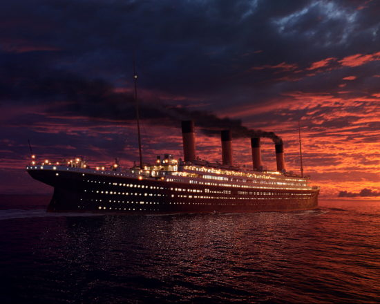 Ships Titanic 014255  550x440 Истории нескольких мужчин, погибших на Титанике