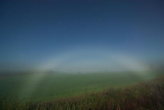 fog bow Туманная радуга