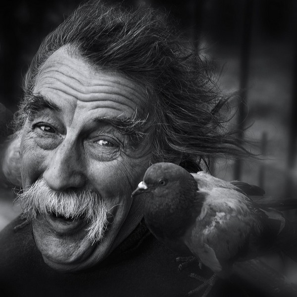 impressive black and white portraits of old people01 О гармонии...