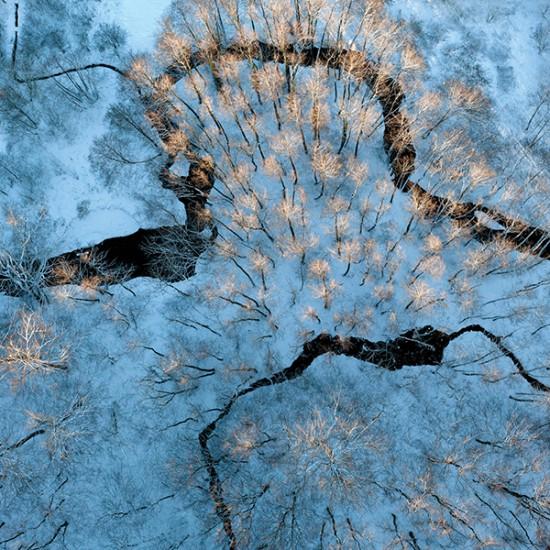 kacper kowalski 01 550x550 Польская зима от Kacper Kowalski