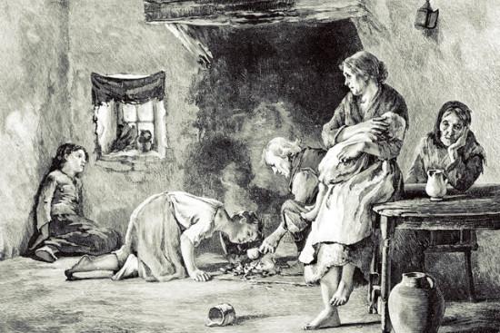 velikij golod 1845 1849 godov v irlandii genocid ili bedstvie 4 550x367 Великий картофельный голод в Ирландии