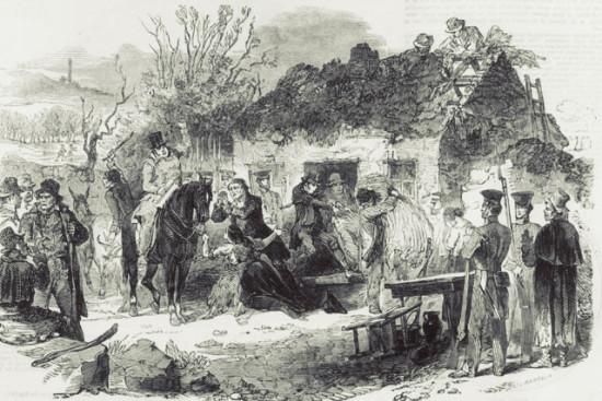 velikij golod 1845 1849 godov v irlandii genocid ili bedstvie 550x367 Великий картофельный голод в Ирландии