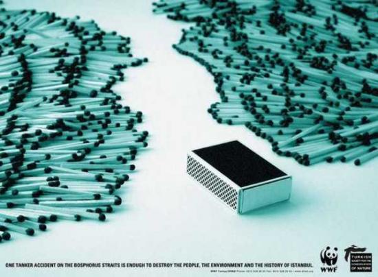wwf 10 Плакаты от WWF   природа нуждается в рекламе