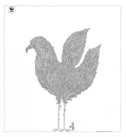 wwf 11 2 1 Реклама от WWF по сохранению лесов