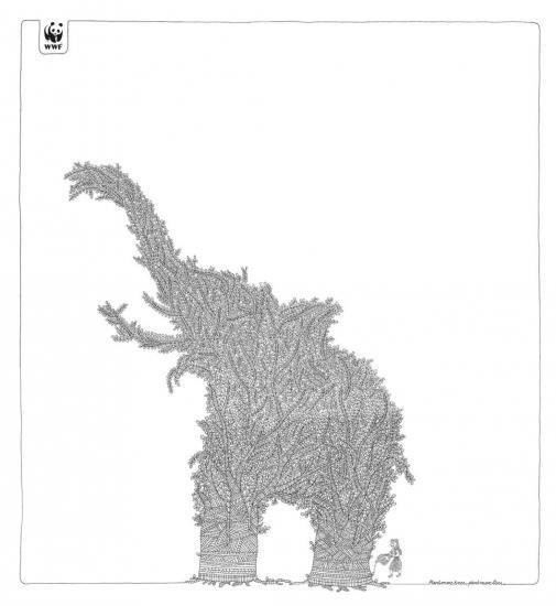 wwf 11 3 1 Реклама от WWF по сохранению лесов
