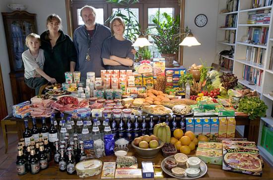 0 cf5fc 7077430d orig 550x363 Еда семей в разных странах мира
