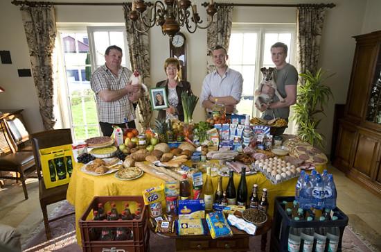 0 cf5fd df18d4af orig 550x363 Еда семей в разных странах мира