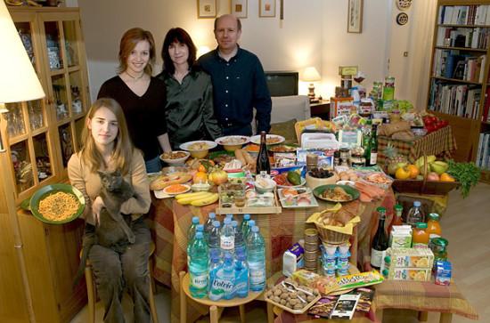0 cf5fe b45317a5 orig 550x363 Еда семей в разных странах мира