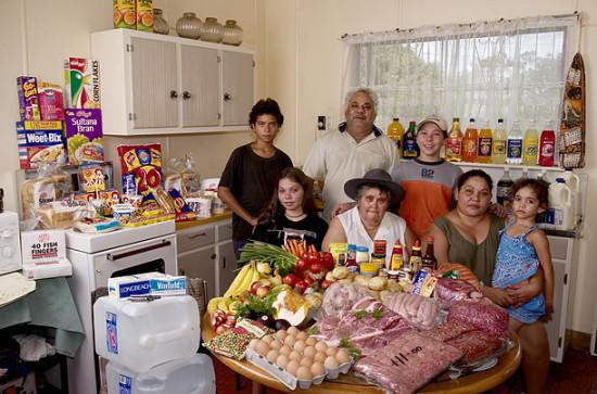 0 cf5ff de73040a orig 550x363 Еда семей в разных странах мира