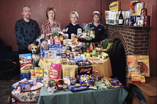 0 cf604 618cb0e9 orig 550x363 Еда семей в разных странах мира