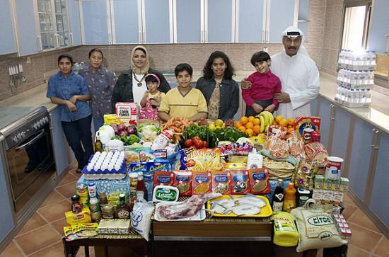 0 cf605 7e5ef15e orig 550x363 Еда семей в разных странах мира
