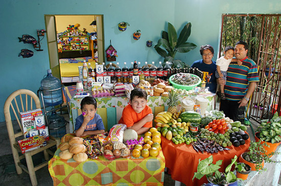 0 cf606 66ce375 orig 550x363 Еда семей в разных странах мира