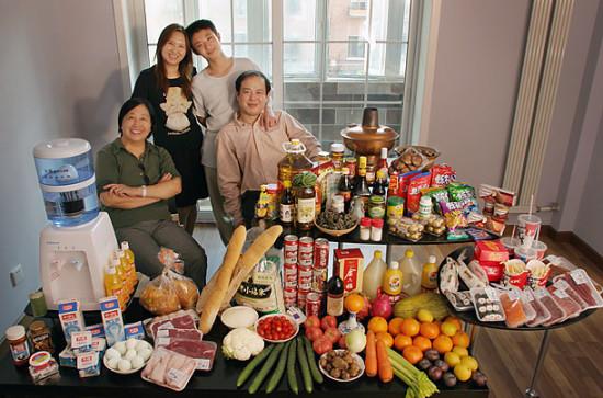 0 cf607 f82271cb orig 550x363 Еда семей в разных странах мира