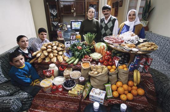 0 cf609 5c64a733 orig 550x363 Еда семей в разных странах мира