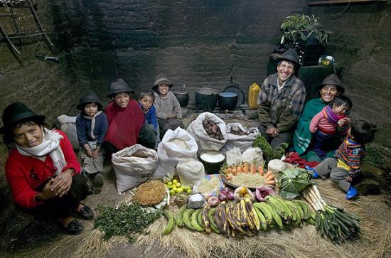 0 cf60d 4397c079 orig 550x363 Еда семей в разных странах мира
