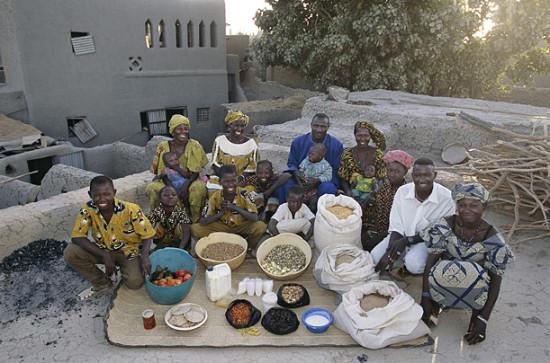 0 cf60e e72c0146 orig 550x363 Еда семей в разных странах мира