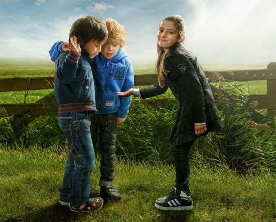 1362414075 adrian sommeling child boys 550x443 Серия фотографий от Adrian Sommeling