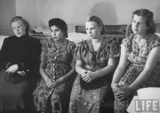 211 Советские женщины 50 х