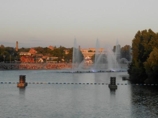 P6102163 550x412 Винницкий фонтан Рошен