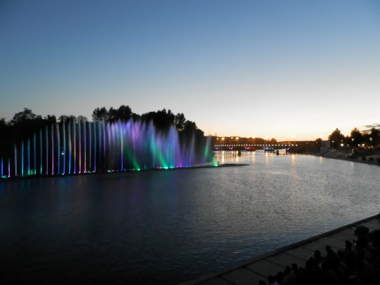 P6102183 550x412 Винницкий фонтан Рошен