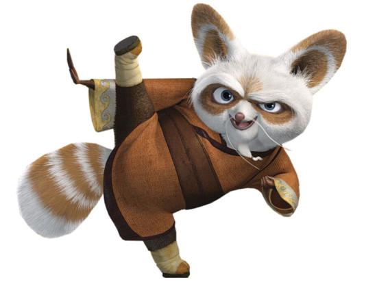 kak narisovat mastera shifu kungfu 550x412 Красная панда