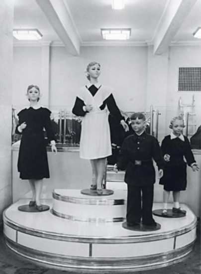manekeny 404x550 Школа, форма, жизнь в СССР...