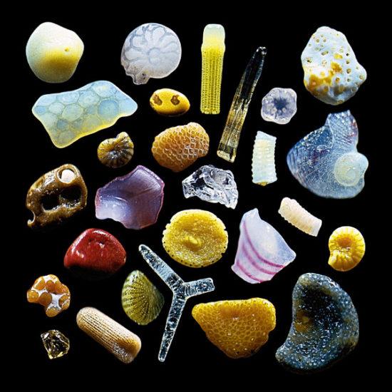 sand 550x550 Песок под микроскопом