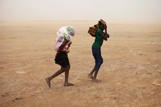 2f089673 550x366 Пыль из пустынь Африки долетела до США