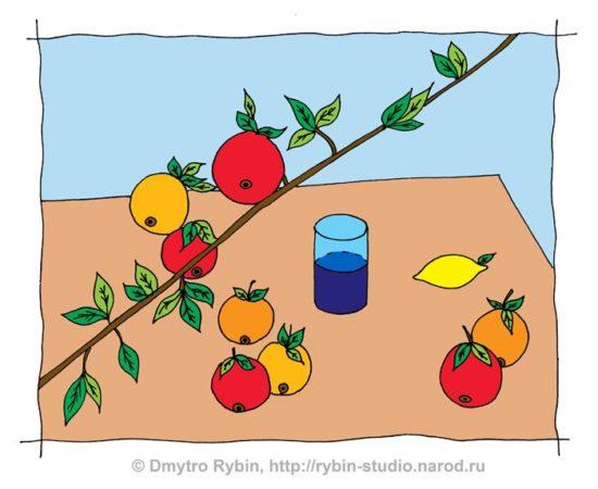 Naturm Petrov Vodkin 05 color aa1 550x450 5 причин, по которым мы не можем «научиться рисовать »