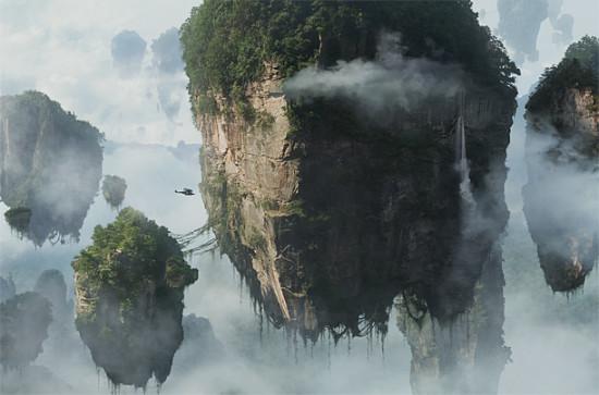 avatar 11 001 550x363 Национальный парк Чжанцзяцзе, Китай