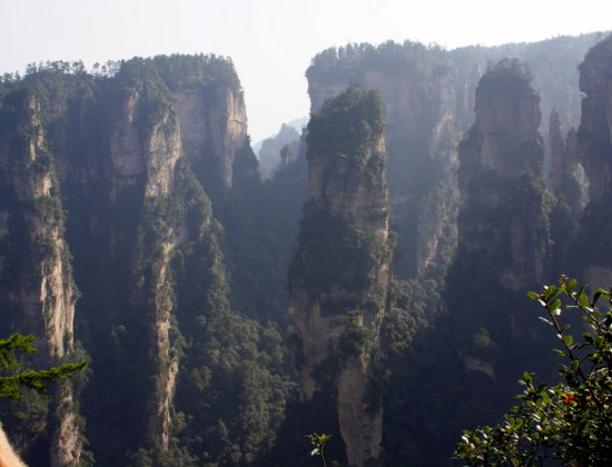 b23fb4c95007916114edade4ba500d24 IMG 6027 550x420 Национальный парк Чжанцзяцзе, Китай