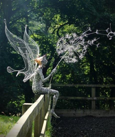 uALfK sdcH8 461x550 Скульптуры из проволоки