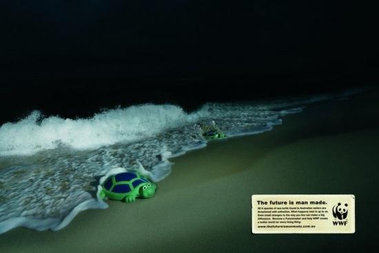wwf 27 1 Плакаты от WWF   природа нуждается в рекламе. Будущее созданное человеком...