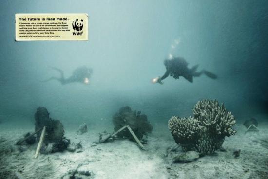wwf 27 3 Плакаты от WWF   природа нуждается в рекламе. Будущее созданное человеком...