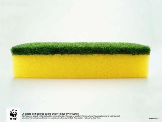 wwf 28 Плакаты от WWF   природа нуждается в рекламе. Охрана воды